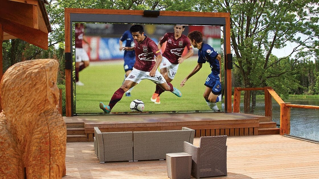 Stealth Acoustics Transformer Outdoor TV
